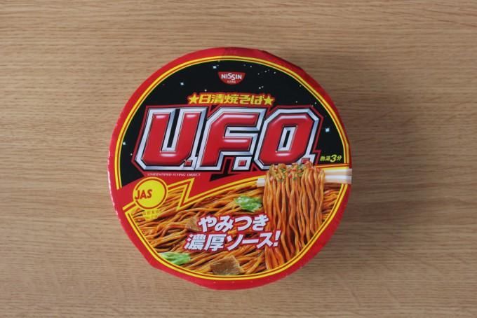 UFO焼きそばのパッケージ