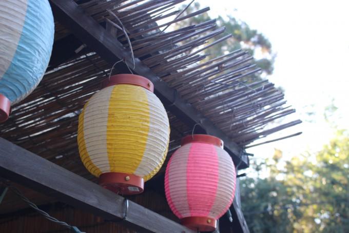 八千代市の駄菓子屋まぼろし堂の提灯